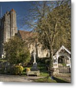 All Saints Birling Metal Print