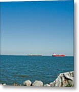 All Ships At Sea Metal Print