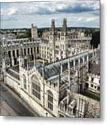 All Souls College - Oxford University Metal Print
