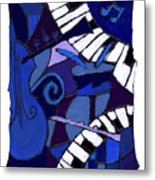 All That Jazz 3 Metal Print