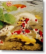 All That Make Sluices And Ponds For Fish Metal Print
