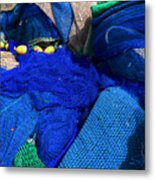 All The Blue Of The Sea Metal Print