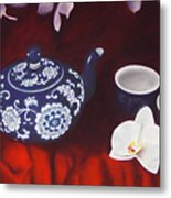 All The Tea In China Metal Print