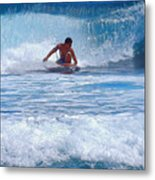 All The Way To Shore Metal Print