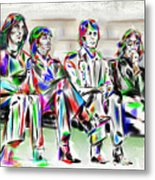 Beatle Love Metal Print