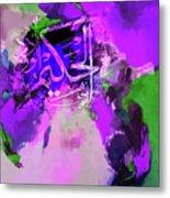 Allah 99 Nmes Al Hakeemo Metal Print