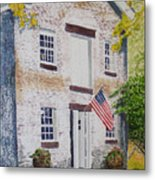 Allaire Carpenter Shop Metal Print