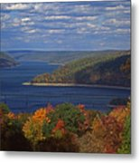 Allegheny National Forest Lake  Metal Print
