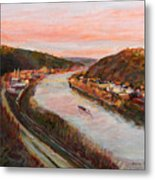 Allegheny Valley Metal Print by Martha Ressler