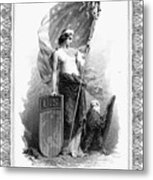 Allegory: Columbia, C1870 Metal Print