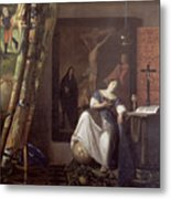 Allegory Of The Faith Metal Print
