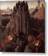 Allegory With A Virgin 1479 80 Hans Memling Metal Print