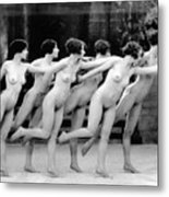 Allen Chorus Line, 1920 - To License For Professional Use Visit Granger.com Metal Print