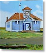 Allensworth School Metal Print