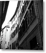 Alley In Florence Metal Print