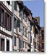 Alley In La Petite France Metal Print