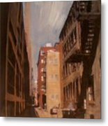 Alley Series 1 Metal Print