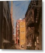 Alley Series 2 Metal Print