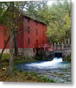 Alley Sprng Mill 3 Metal Print by Marty Koch