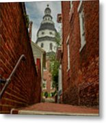 Alley View Metal Print