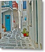 Alley Way Metal Print