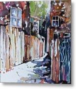 Alleyway Passage Metal Print