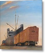 Allied Orient Lines Metal Print