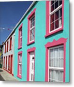 Allihies Streetscape West Cork Metal Print