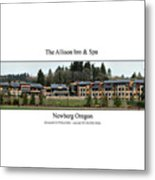 Allison Inn And Spa Metal Print