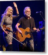 Allison Krauss And Bob Wier Metal Print