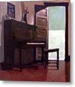 Allison's Piano Metal Print