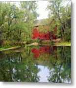 Allsy Sprng Mill Metal Print