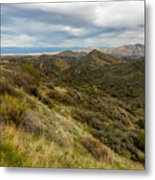 Alluring Landscape Of Arizona Metal Print