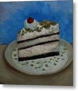 Almond Cake Metal Print