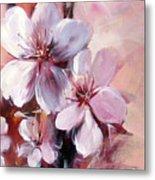 Almonds Blossom  12 Metal Print