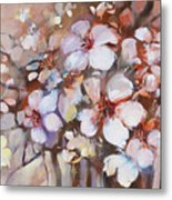 Almonds Blossom  2 Metal Print