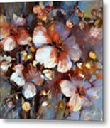 Almonds Blossom  3 Metal Print