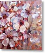 Almonds Blossom  6 Metal Print