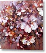 Almonds Blossom  7 Metal Print