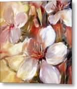 Almonds Blossom  9 Metal Print
