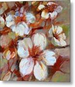 Almonds Blossom1 Metal Print