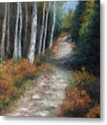 Almost Autumn Metal Print