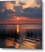 Almost Sunset In Florida Metal Print