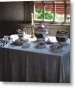 Almost Tea Time Metal Print