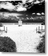 Almost There In South Beach Metal Print