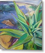 Aloe Vera Number Two Metal Print