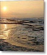 Aloha Oe Sunset Hookipa Beach Maui North Shore Hawaii Metal Print