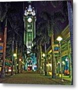 Aloha Towers Metal Print