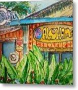 Alohaman Metal Print