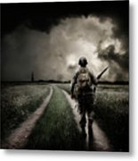 Alone On The 6th Metal Print